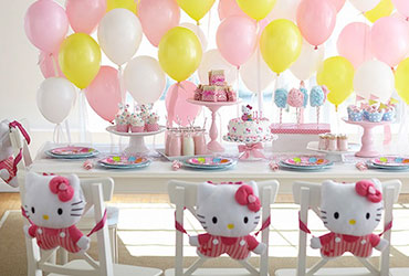 Hello Kitty theme party in Delhi, Gurgaon, Noida, Faridabad, india