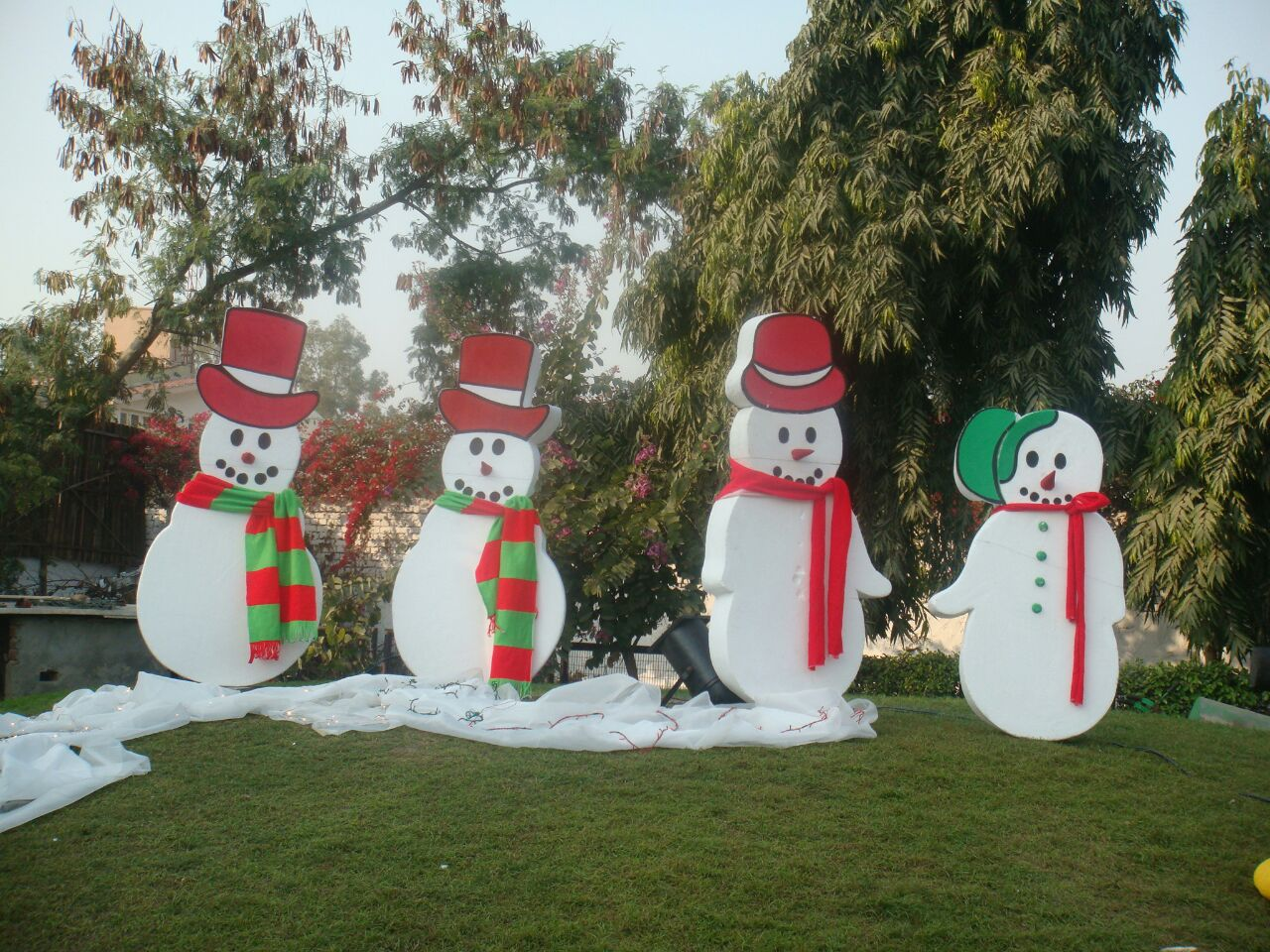 Christmas theme party decoration ideas