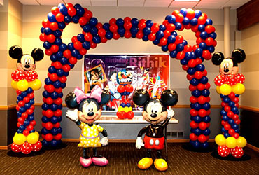 Mickey Mouse Theme party in Delhi, Gurgaon, Noida, and Faridabad