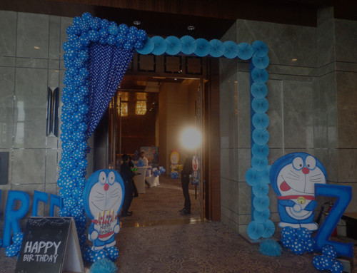 Doraemon theme party birthday decoration
