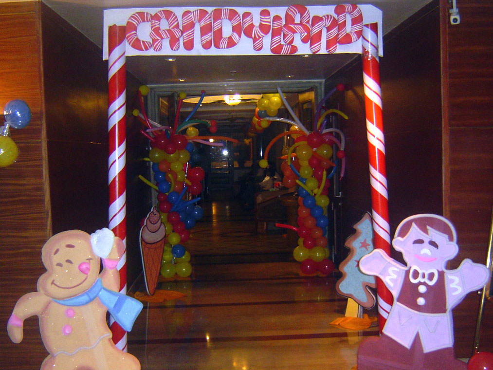 candyland theme party decoration