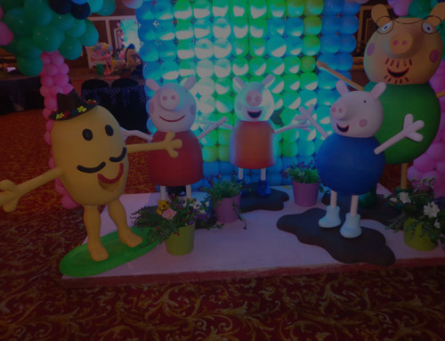 Peppa Pig Birthday decoration
