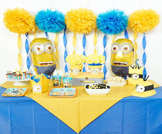 minion theme party ideas