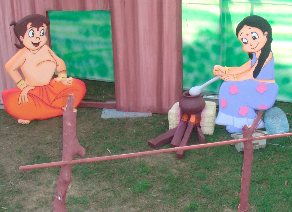 Chhota bheem party planner, chhota bheem party ideas