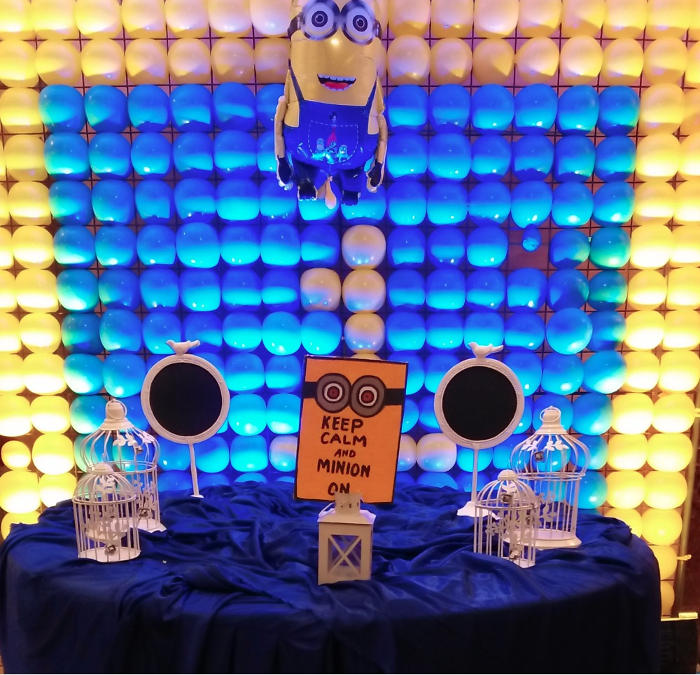 Minion theme party planner in Delhi and Gurgaon, minion theme party organizer in Delhi and Gurgaon