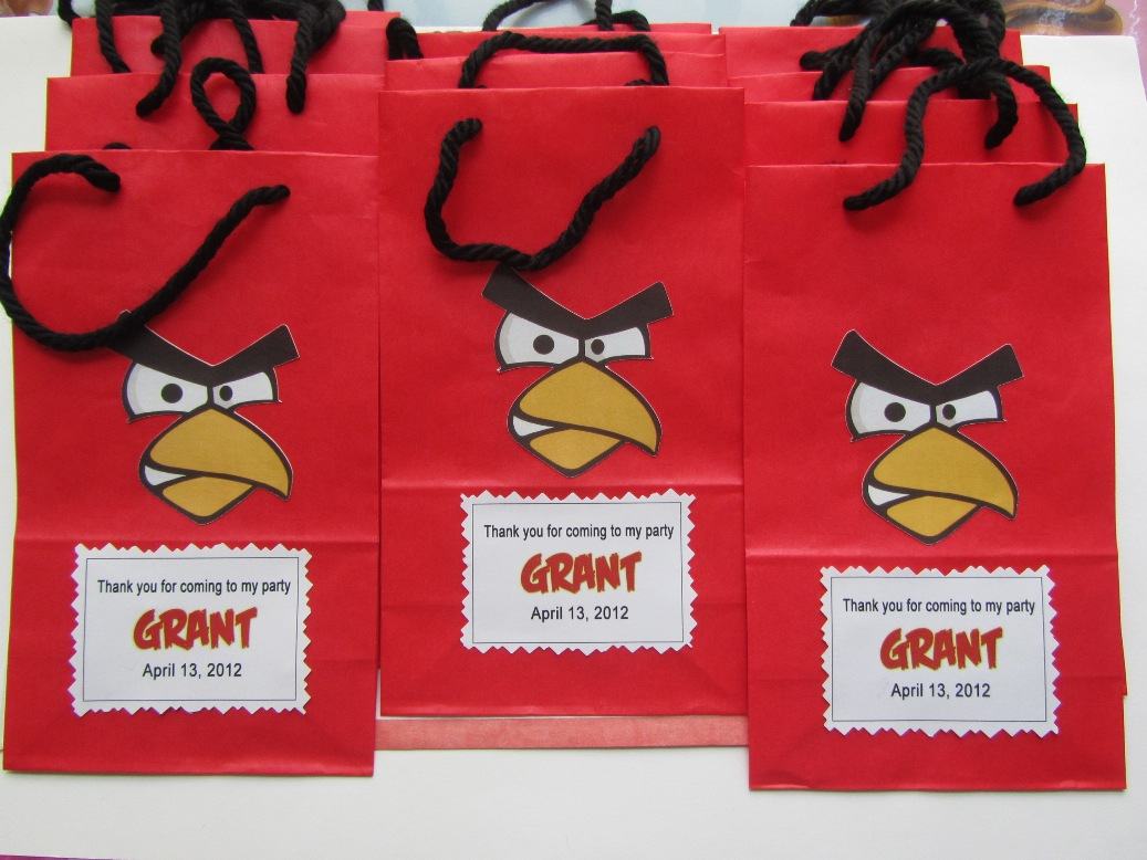 Angry bird theme party ideas, angry bird theme games, angry birds theme favors, angry bird theme activities