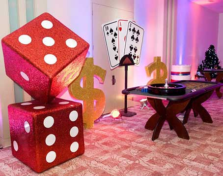 Casino royal theme party, Casino theme party in Delhi, Gurgaon, Noida