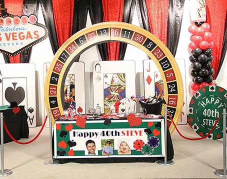Casino royal theme party in Delhi, Gurgaon, Faridabad.