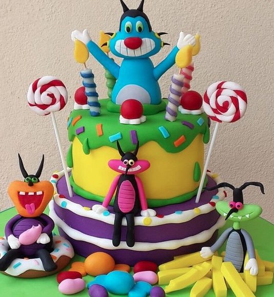 Oggy theme patty planner in Delhi and Gurgaon, Oggy theme party ideas
