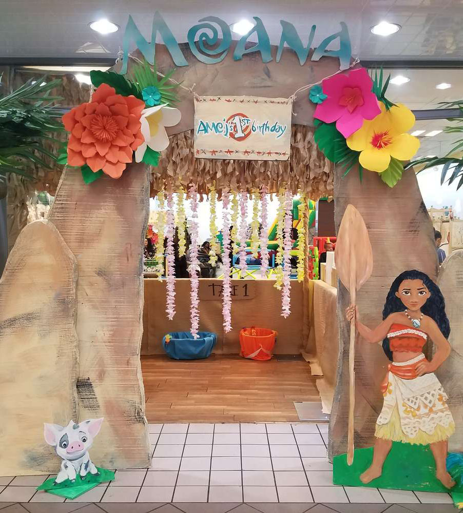 Moana theme party in DLF City Phase-5