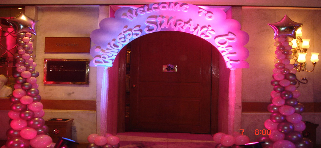 Princess theme party in palam vihar gurgaon