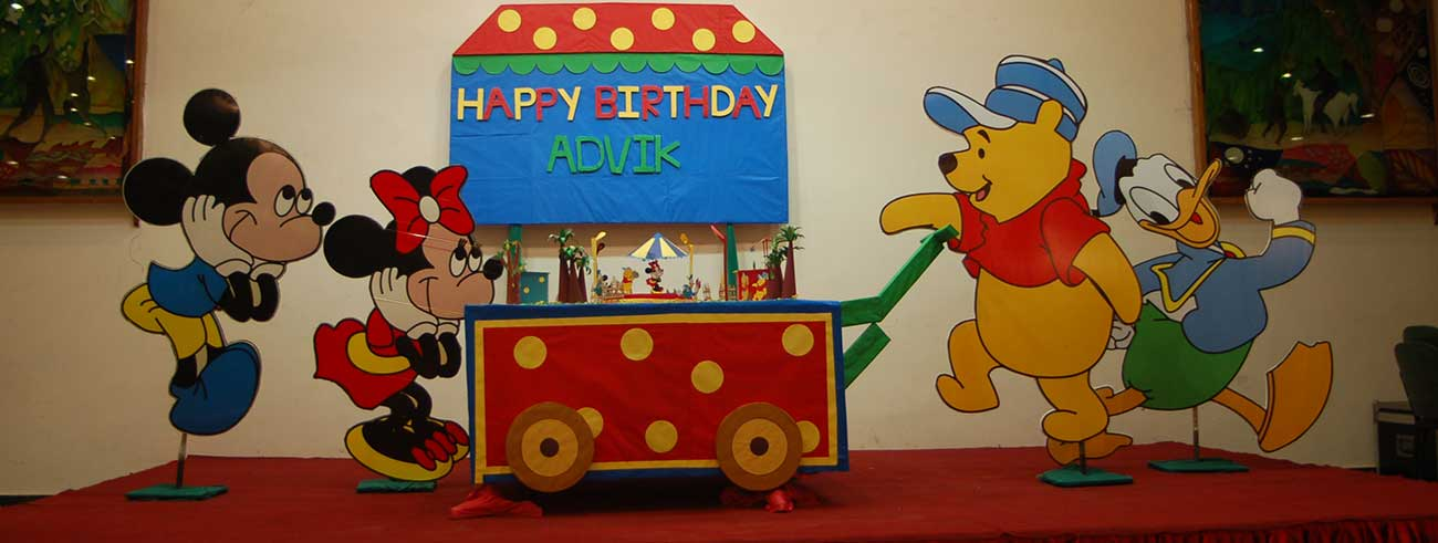 First birthday party organiser in delhi