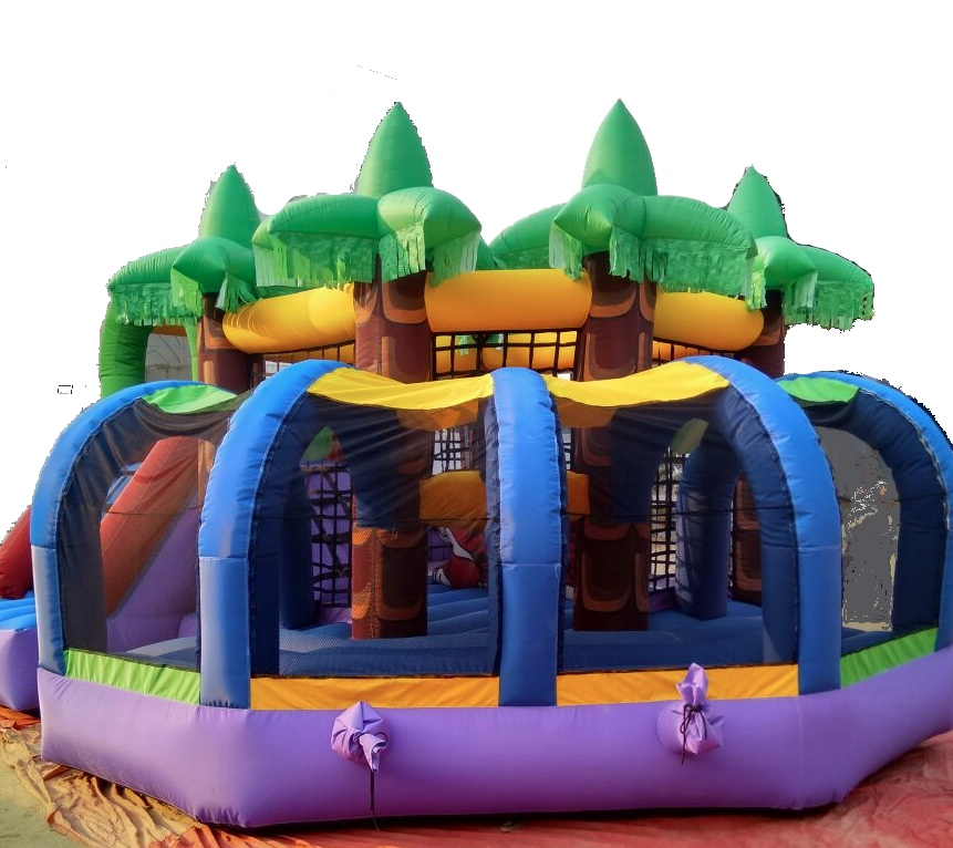 Jungle bouncy for corporate events and birthday party