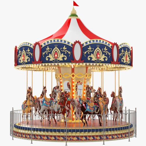Carousel Carrousel merry-go-round for birthday parties, Corporate events in Delhi, Gurgaon, Noida, Faridabad