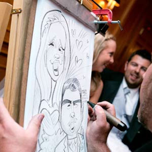 Hire Best caricature artist for birthday parties in Delhi, Gurgaon, and Faridabad