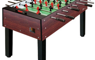 foosball table for birthday party and corporate events