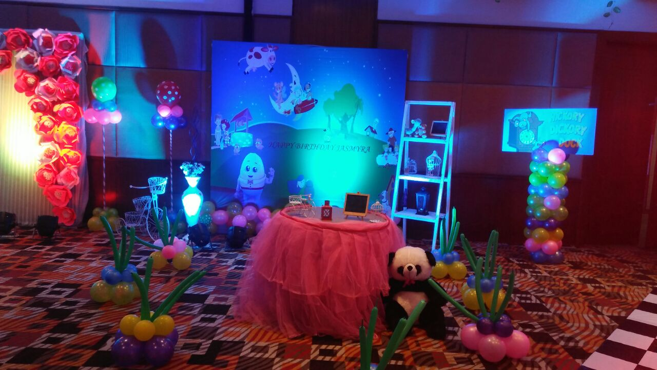 Nursery theme party ideas and decorators in Delhi, Gurgaon and faridabad