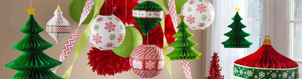 christmas theme party bunting ideas
