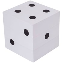 Giant Dice for decoration