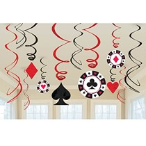 Casino theme dangler