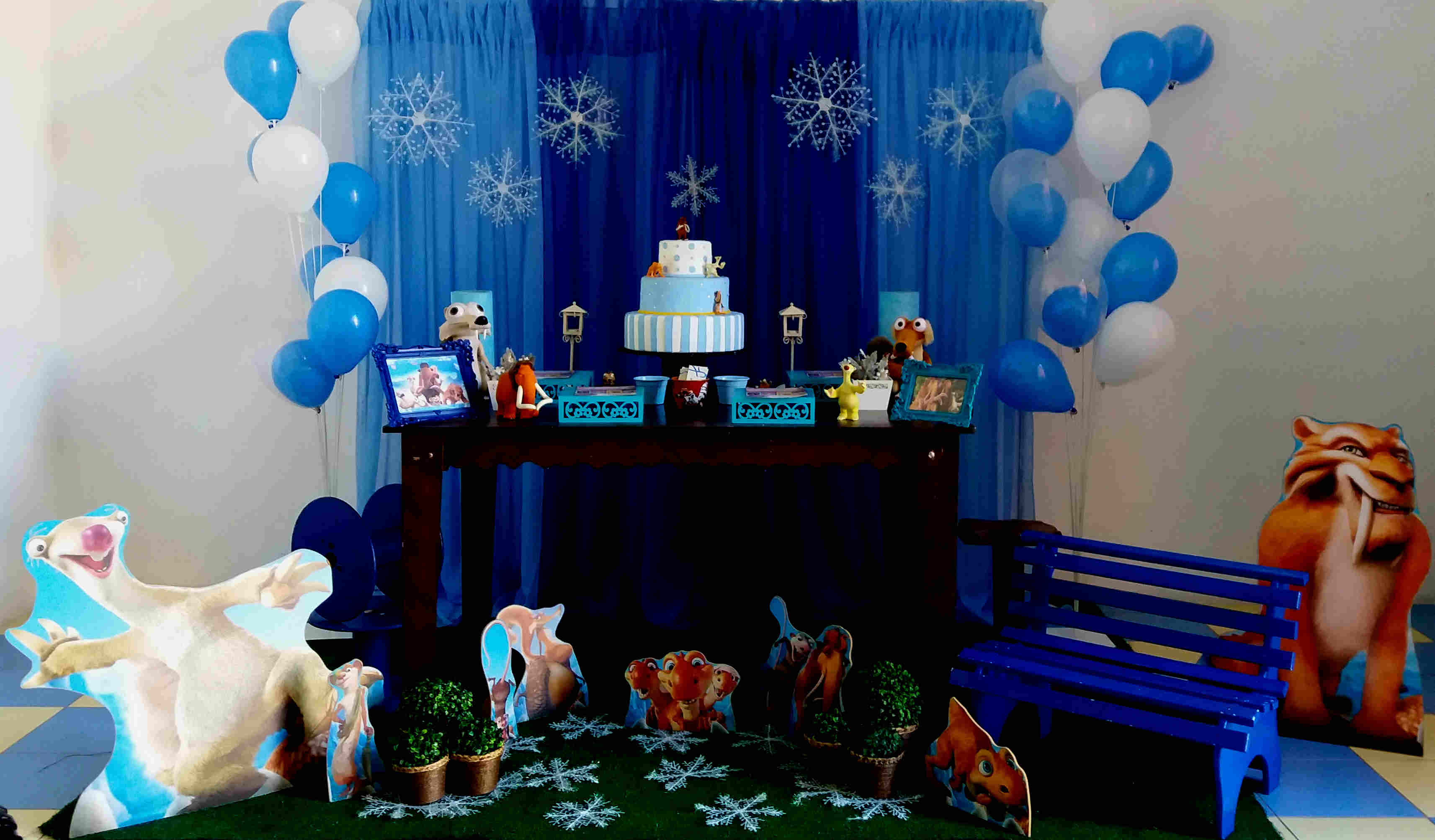 Ice Age Theme Party Ideas and decoration in Delhi, Gurgaon.