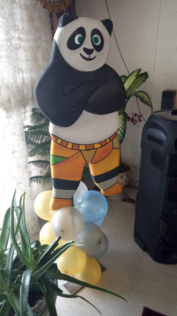 Kung Fu Panda Theme Party Ideas and Decorators in Delhi and Gurgaon