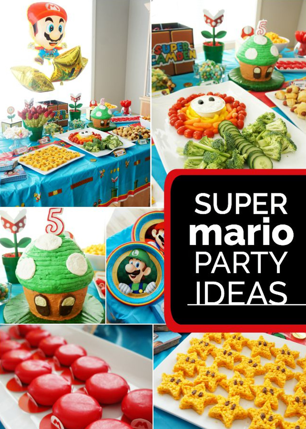 Video Game theme party ideas and decorators