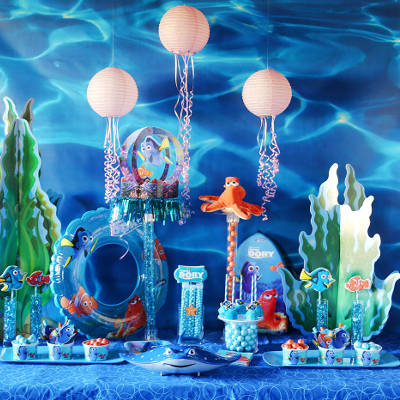 Birthday themes for girls, finding dory theme party ideas