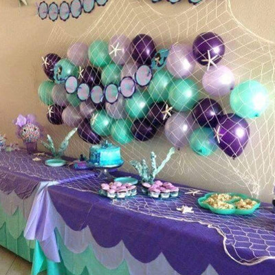 Birthday ideas for girls, little mermaid theme party planner