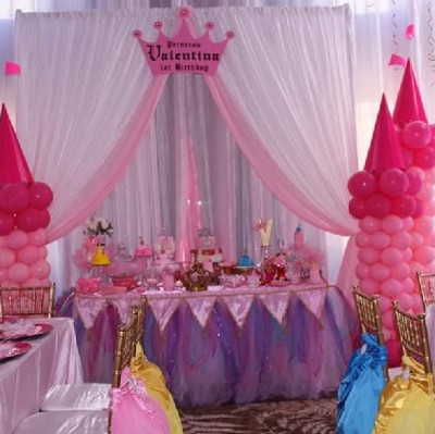 list of birthday themes for gilrs, princess theme party