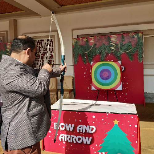 Bow and arrow games for birthday party and corporate events