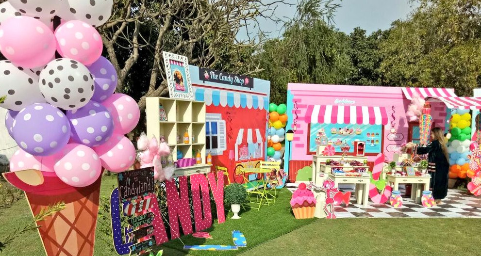 candy shop theme party planner, candy shop theme party ideas, candy shop theme party organizer, candy shop theme party decorators