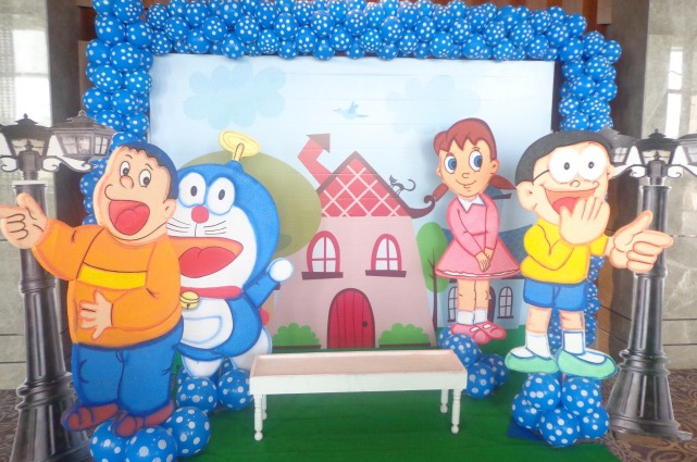 doraemon theme party planner, doraemon theme party organizers, doraemon theme party decorators, doraemon theme party ideas
