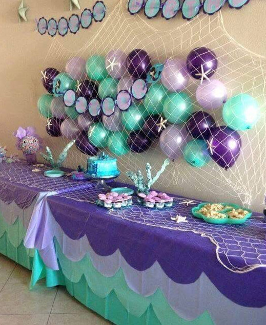 little mermaid theme party planners, little mermaid theme party ideas, little mermaid theme party organizers, little mermaid theme party decorators