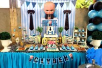 Baby boss theme party ideas