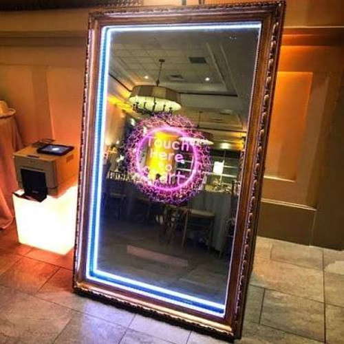 Magic Mirror for events and party