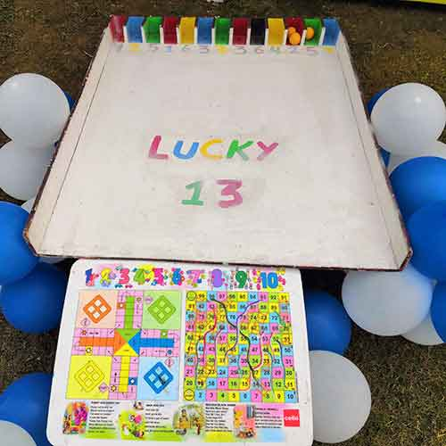 Lucky 13 game for corporate events