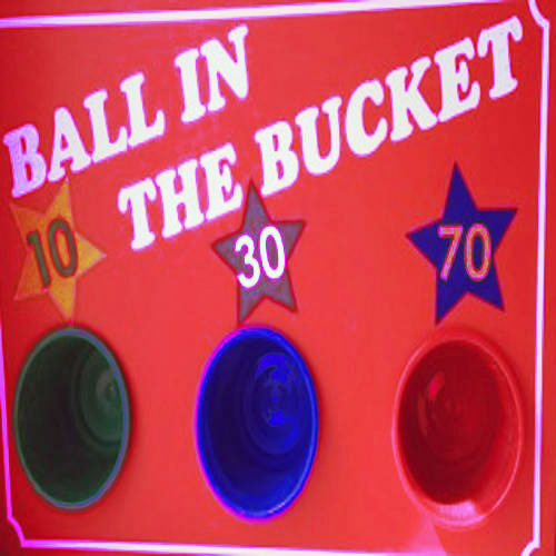 Ball in the bucket game for corporate events