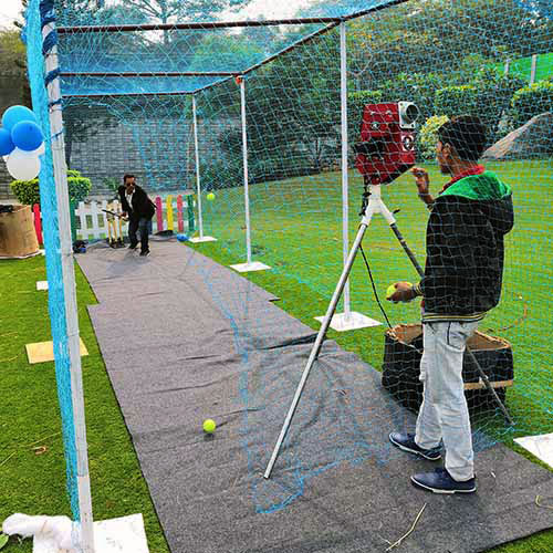 Cricket Net Setup for corporate events