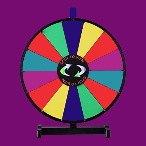 Spin game for corporate events